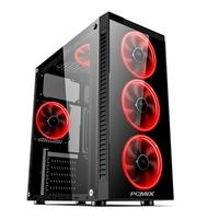 PC Gamer PCMIX Intel Pentium Gold G5400, 8GB DDR4, SSD 240GB, Fonte 500W 80 Plus, MB Asus H310M-E PRIME, Linux - CPU L3500