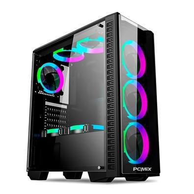 PC Gamer PCMIX Intel Core i3-9100, 16GB DDR4, SSD 480GB, Fonte 500W 80 Plus, MB Asus H310M-E PRIME, Windows 10 - CPU L4100W