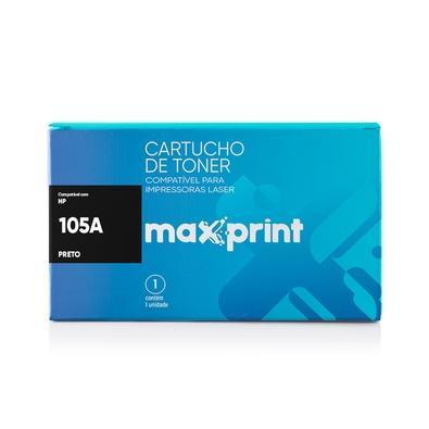 Toner Maxprint para HP 105A, Preto - W1105A