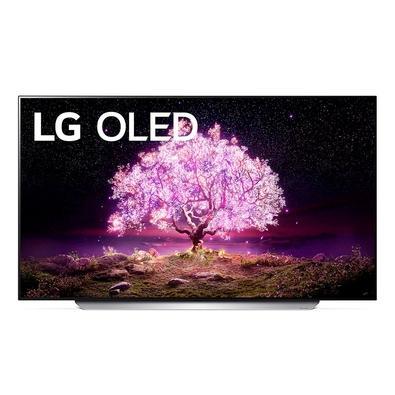 Smart TV LG 77´ 4K OLED77C1, 120Hz, G-Sync, FreeSync, 4x HDMI 2.1, Inteligência Artificial, ThinQ, Google Alexa - OLED77C1PSA