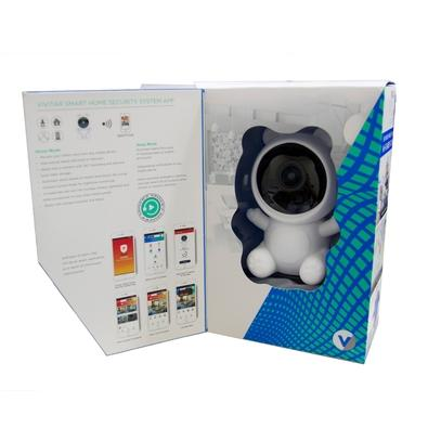 Babá Eletrônica Vivitar IP Smart Home Security, WiFi, 360°, Full HD, Branco - IPC120
