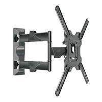 Suporte Multiarticulado de Parede ELG para TV 26´ a 55´, LED/LCD, VESA 100 A 400, Preto - P400