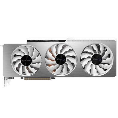 Placa de Vídeo Gigabyte NVIDIA GeForce RTX 3080 Ti VISION OC 12G LHR, 12 GB GDDR6X, RGB Fusion 2.0, Ray Tracing, DLSS - GV-N308TVISION OC-12GD
