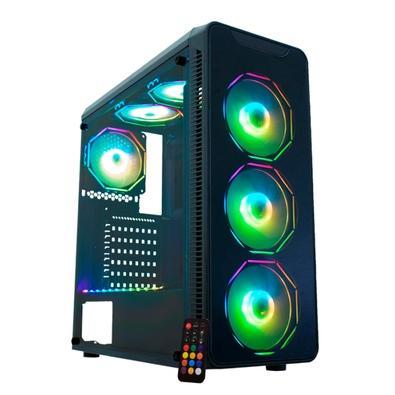PC Gamer Compusonic Intel Core i3-9100F, RAM 8GB, SSD 256GB M.2, GTX 1650 4GB, Fonte 500W 80PLUS - CS12AA10AL15016504GB