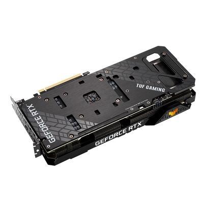 Placa de Vídeo ASUS TUF RTX 3060 O12G V2 Gaming LHR, 15 Gbps, 12GB GDDR6, RGB, Ray Tracing, DLSS - 90YV0GC0-M0NA10