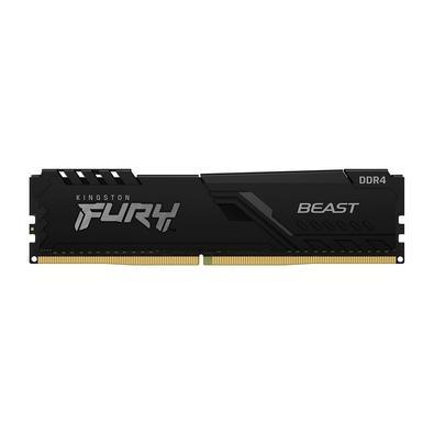 Memória Kingston Fury Beast, 16GB, 3733MHz, DDR4, CL19, Preto - KF437C19BB1/16