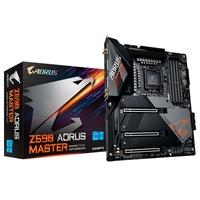 Placa Mãe Gigabyte Z590 Aorus Master (rev. 1.0), Intel LGA1200, ATX, DDR4, Wi-Fi, RGB, Bluetooth - Z590 AORUS MASTER