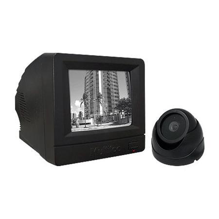 Kit Vigilância Multitoc c/ Cabo 20m + Câmera MUKV0000 Preto