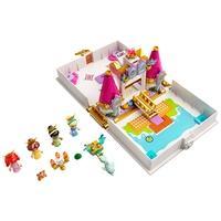 Lego O Livro de Histórias e Aventuras de Ariel, Bela, Cinderela e Tiana - 43193