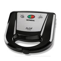 Mondial Grill e Sanduicheira Mac Grill Inox S-11 127V