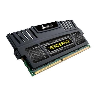 Memória Corsair Vengeance 8GB 1600Mhz DDR3 CL10 Black - CMZ8GX3M1A1600C10