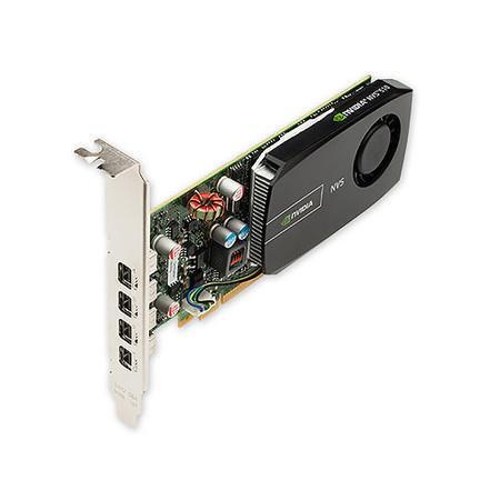 Placa de Vídeo VGA PNY Nvidia NVS 510 DVI GPU Quadro 2GB DDR3 VCNVS510DVI-PB