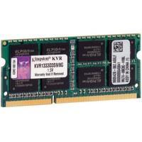 Memória Kingston 8GB, 1333MHz, DDR3, Notebook, CL9 - KVR1333D3S9/8G