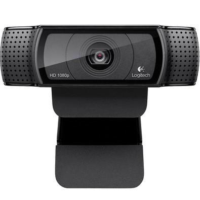 WebCam Logitech C920 Pro Full HD para Chamadas e Gravações em Video Widescreen 1080p - 960-000764