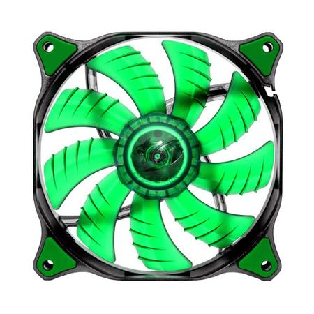 Cooler FAN Cougar Dual-X 120x120x25mm Green LED CF-D12HB-G