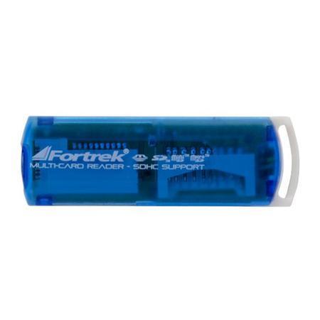 Fortrek Leitor de Cartão de Memória USB 11 em 1 Azul LDC102 51925