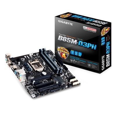 Placa-Mãe Gigabyte GA-B85M-D3PH, Intel LGA 1150, mATX, DDR3