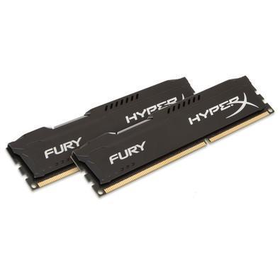 Memória HyperX Fury, 16GB (2x8GB), 1866MHz, DDR3, CL10, Preto - HX318C10FBK2/16