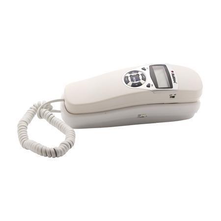 Telefone Multitoc Com fio Gôndola ID Branco MUTE0051