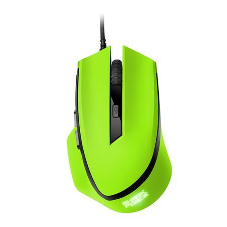 Mouse Gamer Sharkoon Shark Force 6 Botões 1600 DPI 4000 FPS Óptico Verde