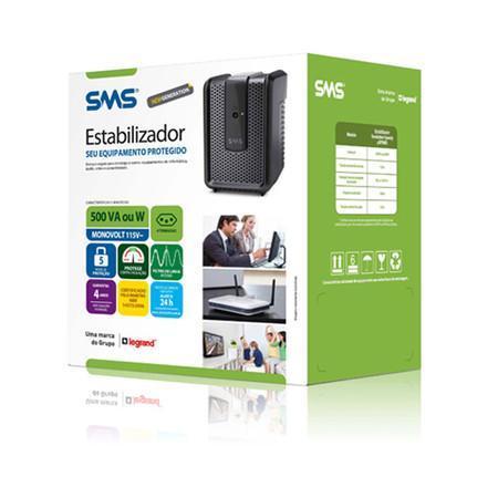 Estabilizador SMS Revolution Speedy 500va Mono 115 15971