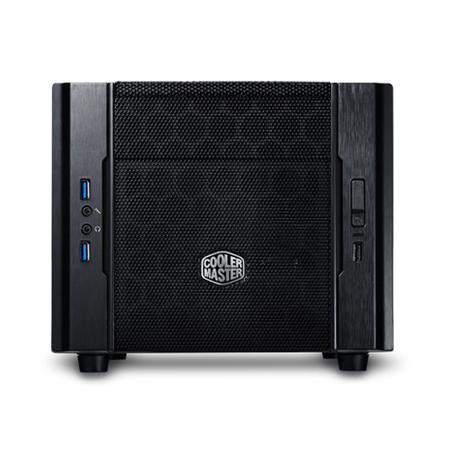 Gabinete CoolerMaster Mini ITX Elite 130 USB 3.0 Preto RC-130-KKN1