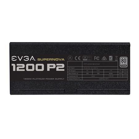 Fonte EVGA 1200W 80 Plus Platinum Modular SuperNova Modo ECO 220-P2-1200-X