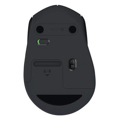Mouse Logitech M280 Sem Fio Preto 1000DPI