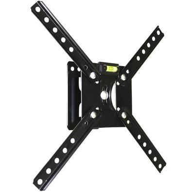 Suporte Articulado Brasforma Para TV , LCD, LED e Plasma 10´ a 55´ Preto - SBRP120
