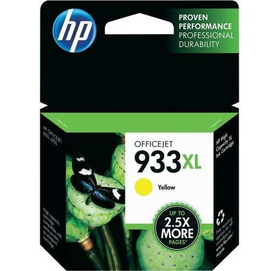 Cartucho de Tinta HP Officejet 933XL Amarelo - CN056AL