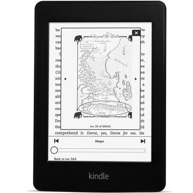 Kindle Paperwhite, Wi-Fi, 4GB Preto AO0456