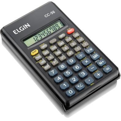 Calculadora Científica Elgin 56 Funções CC56