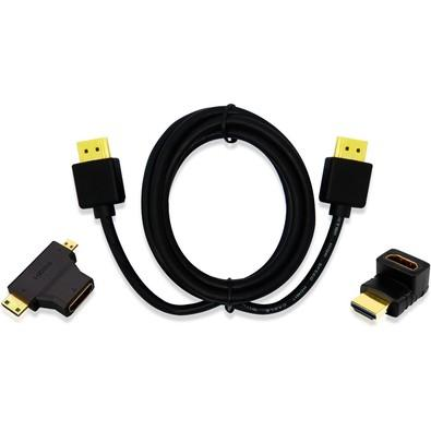 Cabo Multilaser HDMI SLIM 1.4 3,0M WI289