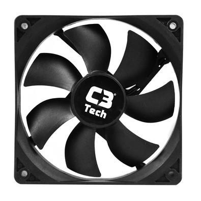 Cooler FAN C3 Tech F7-100 BK Storm 12cm C3T