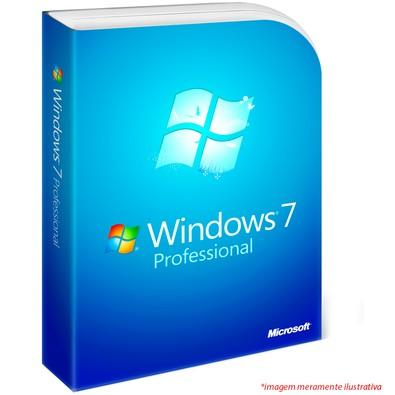 Microsoft Sistema Operacional Windows 7 Professional GGK 32/64 Bits SP1 Português 6PC-00017