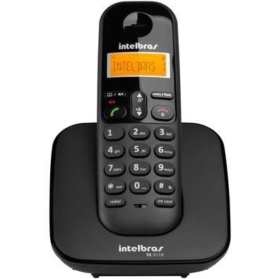Telefone Intelbras sem Fio TS3110 Preto