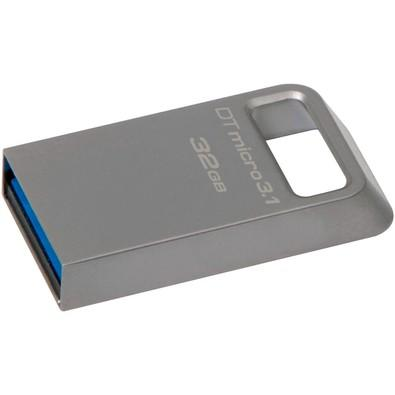 Pen Drive Kingston DataTraveler USB 3.1 Ultrapequeno 32GB - DTMC3/32GB