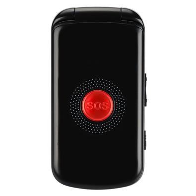 Celular DL YC-130, Tela 2.4´, Câmera, Rádio FM, MP3, Dual Chip, Botão SOS, Desbloqueado - Preto