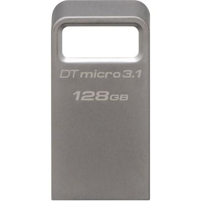 Pen Drive Kingston DataTraveler USB 3.1 Ultrapequeno 128GB - DTMC3/128GB
