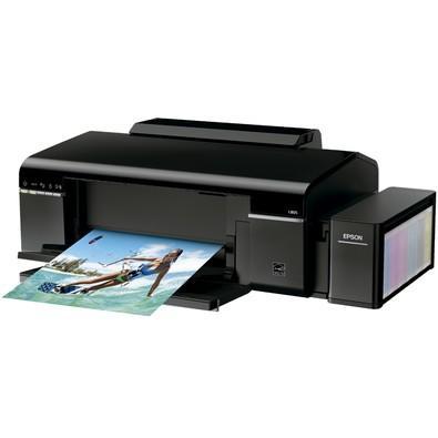Impressora Epson EcoTank, Jato de Tinta, Wi-Fi, 110V - L805