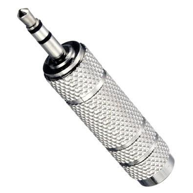 Adaptador MD9 Plug P1 M X P2 F Niquelado 5959