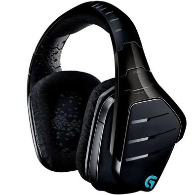 Headset Gamer Logitech G933 Artemis Spectrum Sem Fio RGB Lightsync 7.1 Dolby Surround Drivers Pro-G