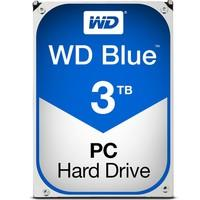 HD WD SATA 3,5´ Blue PC 3TB 5400RPM 64MB Cache SATA 6.0Gb/s - WD30EZRZ