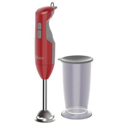 Mixer Oster com Haste em Inox Vermelho 220V - FPSTHB2610R-057