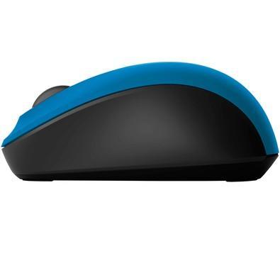 Mouse Sem Fio Microsoft 3600, Bluetooth, Azul e Preto - PN700028