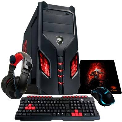 Computador Gamer G-Fire AMD A6-7400K, 8GB, HD 1TB, Radeon R5 integrada, HTAVA R83