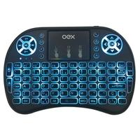 Teclado para Smart TV OEX Air Mouse CK103 com Touchpad