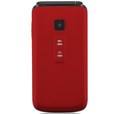 Celular Multilaser Flip Vita, Câmera, Rádio, MP3, Lanterna, Botão SOS, Dual Chip - Vermelho - P9021