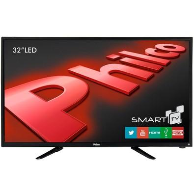 Smart TV Philco LED 32´ HD com Conversor Digital, HDMI, USB, Wireless Integrado - PH32B51DSGW