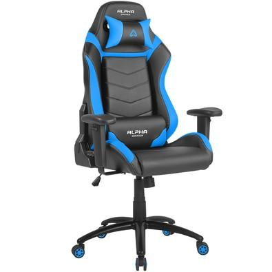 Cadeira Gamer Alpha Gamer Gamma, Black Blue